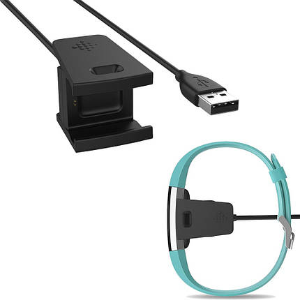 Зарядное устройство SK для Fitbit Charge 2 Smart Wristband черный, фото 2