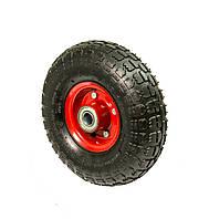 Колесо пневматическое (надувное) 250х85, подшипник шариковый (17 мм) Маркировка 4.10/3.50-4