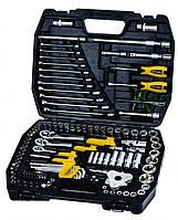 """Набор инструментов для автомобиля 1/4"""", 3/8"""" и 1/2"""" 121 шт в кейсе Mastertool 78-5121"""