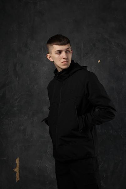 Демисезонная куртка мужская черная от бренда ТУР модель Центурион (Cеnturion) размер S, M, L, XL