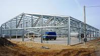 Строительство, Реконструкция  ангаров, складов, зернохранилищ ЛСТК.c