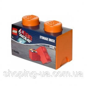 Двухточечный оранжевый контейнер для хранения Lego 40021753