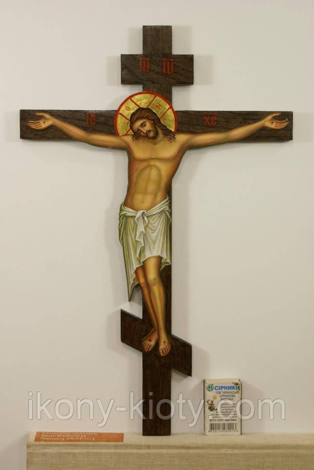 Крест с распятием.