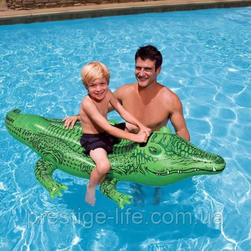 """Intex Плотик 58546NP """"Крокодил"""", від 3-х років"""