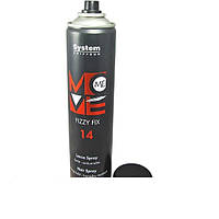 14 Move-Me Fizzy Fix Лак-спрей для волос сильной фиксации. Формирование волоса после применения 4 с.ф., 500 мл