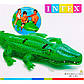 """Intex Плотик 58562NP """"Аллигатор"""", от 3-х лет, фото 2"""