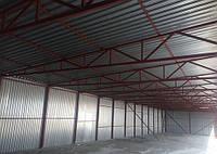 Строительство. Реконструкция ангаров, накрытий, складов.c