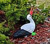 Садовая фигура Семья садовых аистов в гнезде №22, фото 4