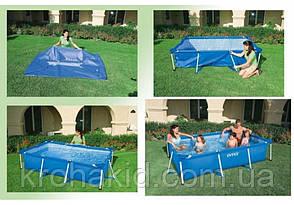 Каркасный бассейн INTEX 28271 NP размер 260-160-65 cm,  обьем воды 2282 L., фото 2