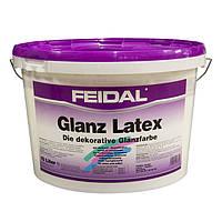 Высококачественная глянцевая латексная краска для внутренних и наружных работ Glanz Latex 10 л
