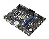Материнская плата s1155 MSI H61M-P35 (B3) (Intel H61, 2xDDR3. 4xSATA, VGA, DVI-D) бу