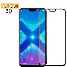 Защитное стекло Optima 3D Full Glue для Huawei Honor 8x Black