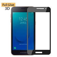 Защитное стекло OP 3D Full Glue для Samsung J260 J2 Core черный