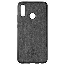 Чехол накладка силиконовый Baseus Skill для Huawei Mate 20 Lite черный