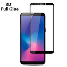 Защитное стекло OP 3D Full Glue для Samsung A6s черный
