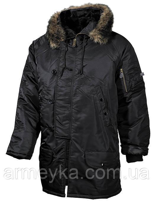 Куртка N3B, черная