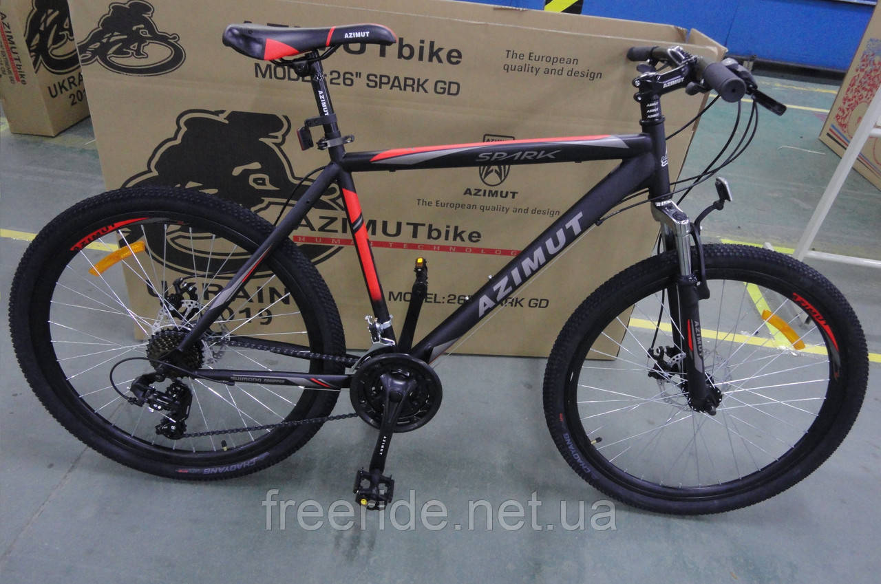 Горный Велосипед Azimut Spark 29 GD (19 рама)