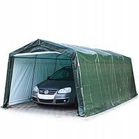 Павильон гаражный 3,3x6,2 м Полиэтилен (PE) 260 г/м² (Зеленый), фото 1
