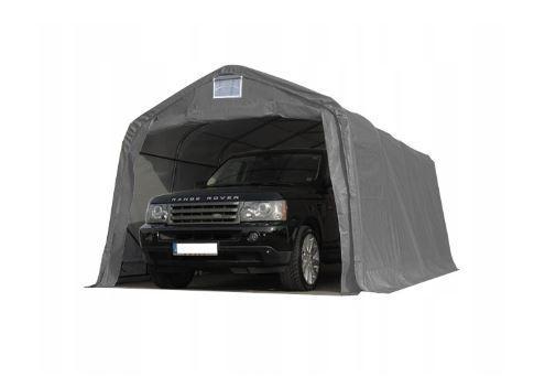 Павильон гаражный 3,3x6 м ПВХ 550 г/м² (Серый)