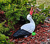 Садовая фигура Семья садовых аистов в гнезде №24, фото 4