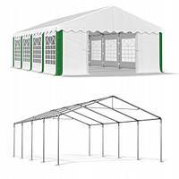 Павильон свадебный, торговый, гаражный 5x8 м PE (полиэтилен) 240 г/м², фото 1