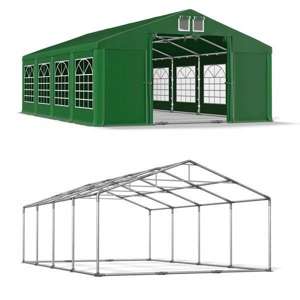 Павильон свадебный, торговый, гаражный 5x8 м ПВХ 560 г/м²