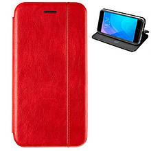 Чехол книжка кожаный Gelius для Huawei Nova 4 красный