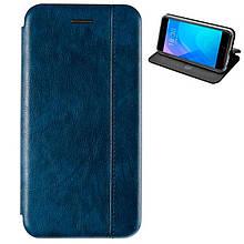 Чехол книжка кожаный Gelius для Huawei Nova 4 синий
