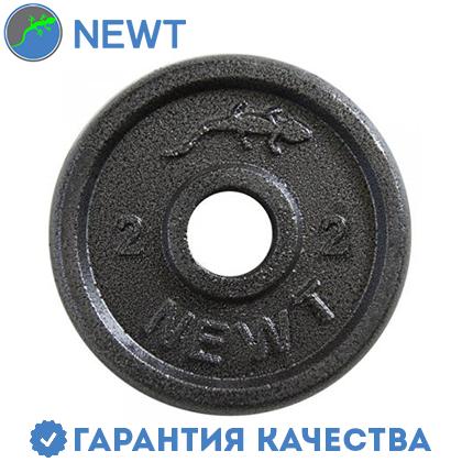 Диск стальной Newt Home 2 кг, диаметр - 28 мм, фото 2