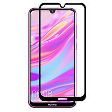 Защитное стекло OP 3D Full Glue для Huawei Y7 2019 черный
