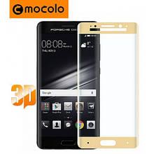 Защитное стекло Mocolo 3D для Huawei Mate 9 Pro золотистый