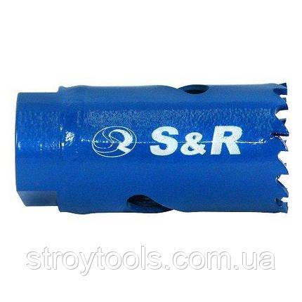 Биметаллическая кольцевая пила S&R 21 х 38, фото 2