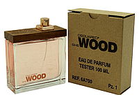 Женская парфюмированная водаDSQUARED2 SHE WOOD (тестер), 100 мл.
