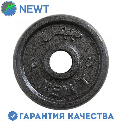 Диск стальной Newt Home 3 кг, диаметр - 28 мм