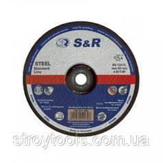 Круг зачистной по металлу S&R Supreme типа A 30 R 180