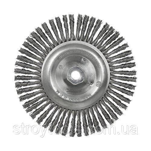 Щетка коническая S&R, стальная плетенная проволока 178