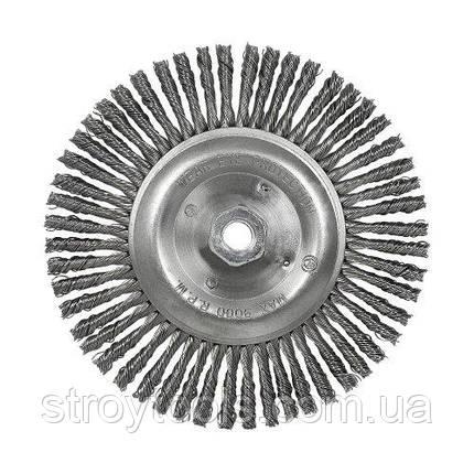 Щетка коническая S&R, стальная плетенная проволока 178, фото 2