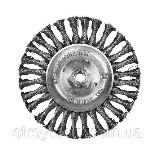 Щетка дисковая S&R, стальная плетенная проволока 178