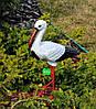 Садовая фигура Семья садовых аистов №25, фото 4