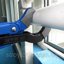 Ключ трубный разводной S&R S 3' /45°, фото 3