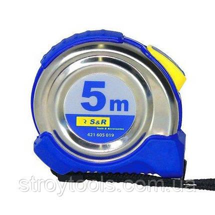 Рулетка S&R 5м  Ferro, фото 2