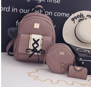 Рюкзак, сумочка и визитница 3 в 1