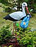 Садовая фигура Семья садовых аистов №26, фото 4