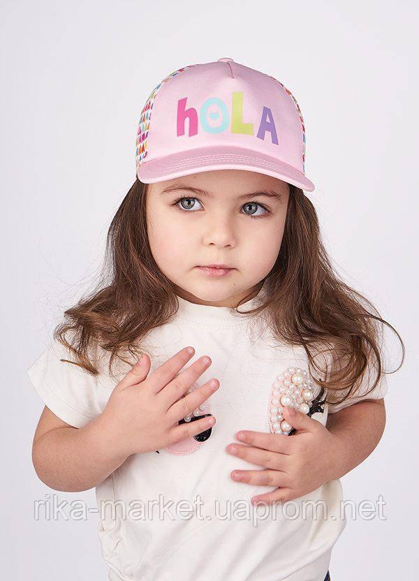 Кепка для девочки ТМ Dembo House, арт. Карла, возраст от 9 месяцев до 3 лет