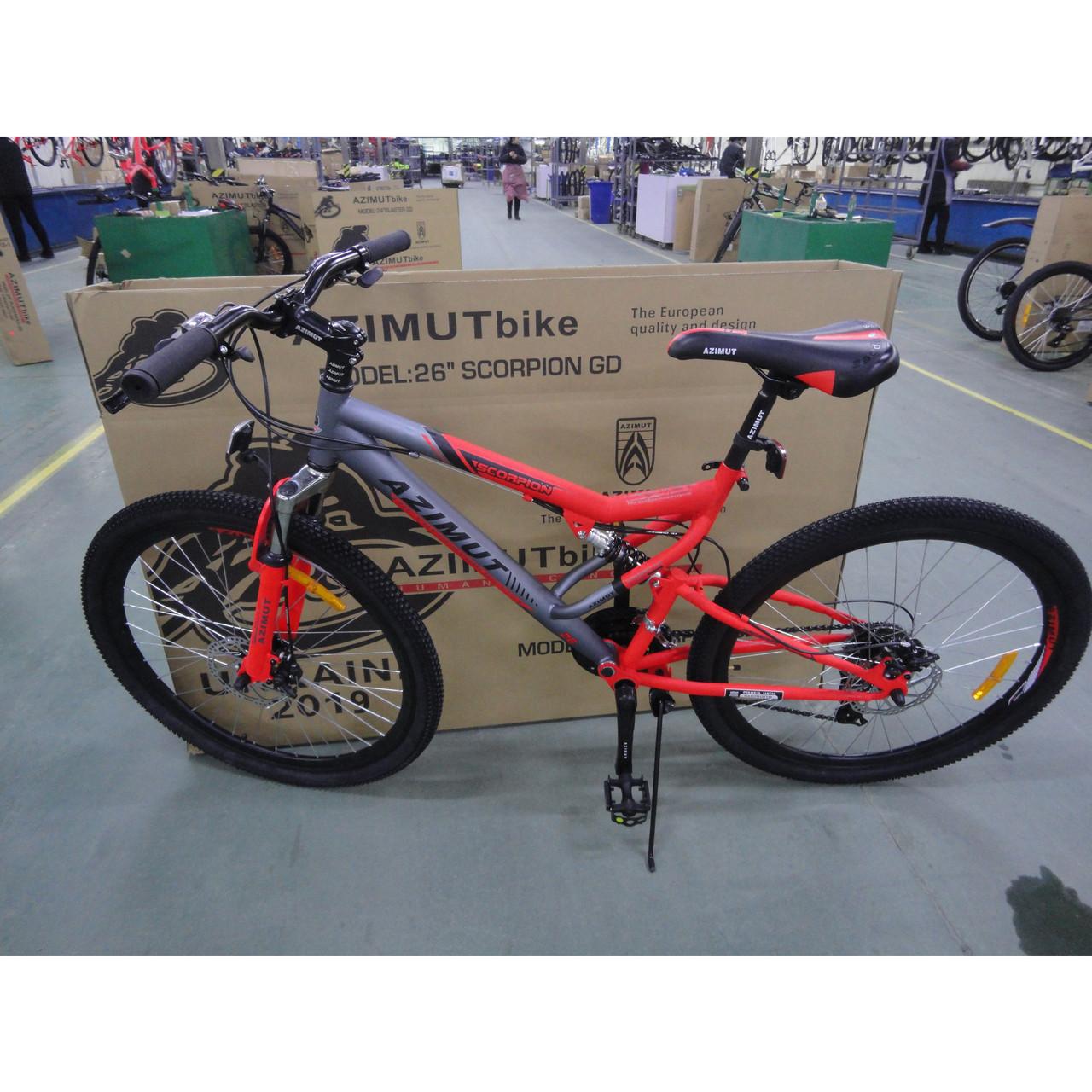 "Велосипед Azimut Scorpion 24""х17 GFRD 2019"