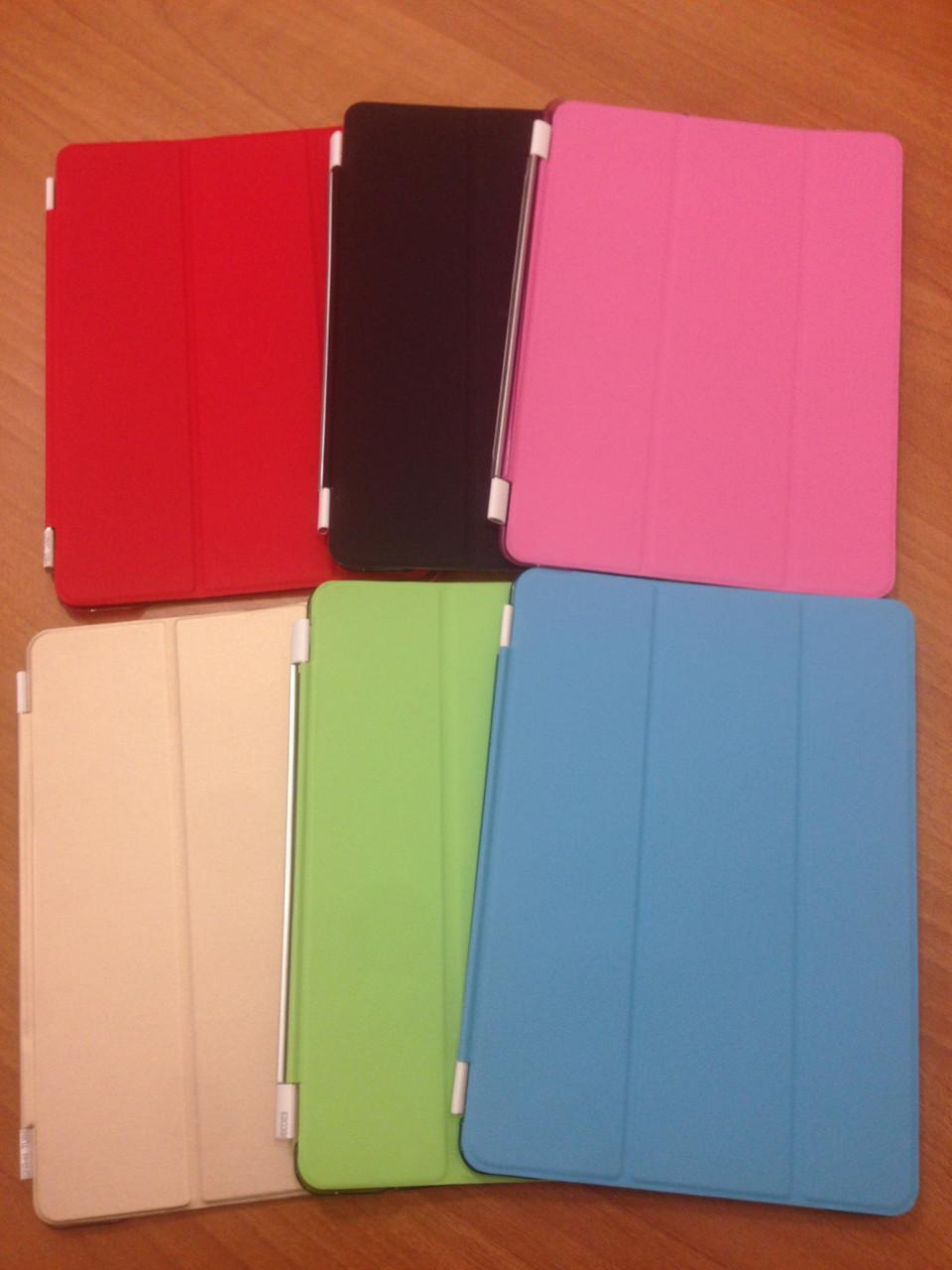 Чехол Смарт ковер+пластиковая накладка для Ipad Pro 9.7 Разные цвета( есть и на другие модели)