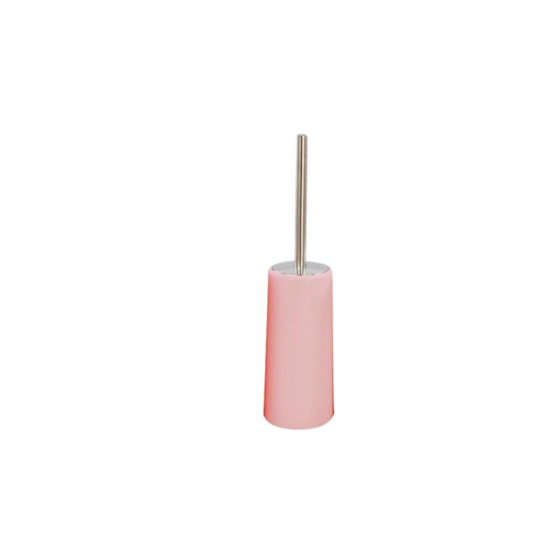 Напольный туалетный ершик пластик Potato P220 розовый