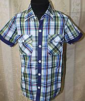 Рубашка летняя с коротким рукавом для мальчика.