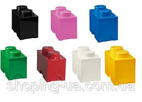 Двухточечный розовый контейнер для хранения Lego 40021739, фото 3