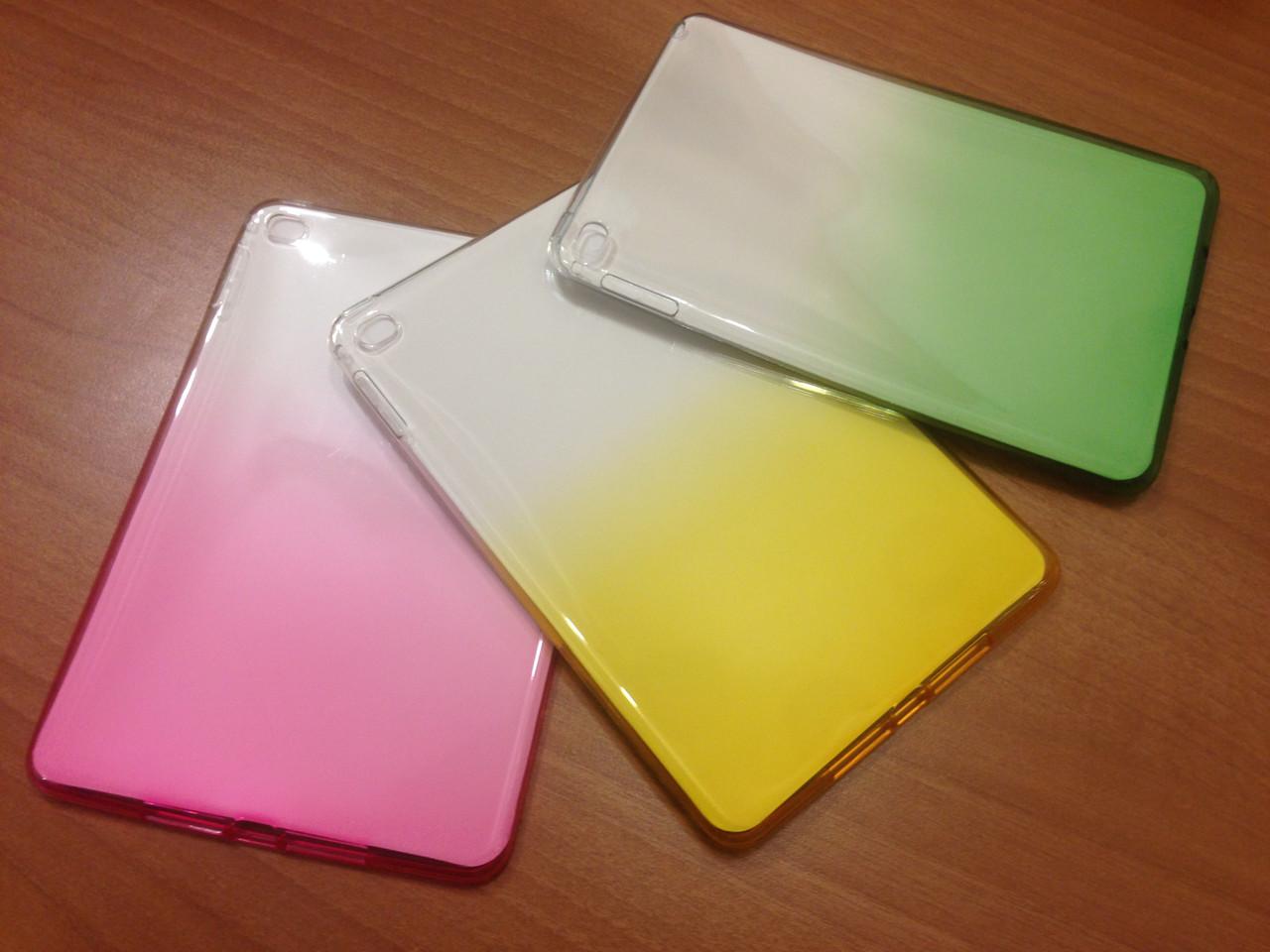 Силиконовый чехол с переливом для Ipad Mini 4 Разные цвета(есть на все модели)